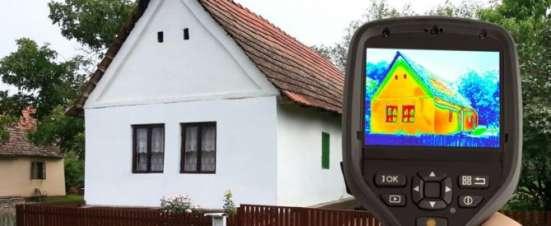 Тепловизионная диагностика состояния жилья в г. Мариинск Фото 1