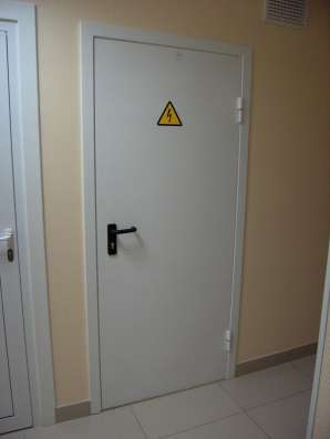 Двери металлические с отделкой и противопожарные