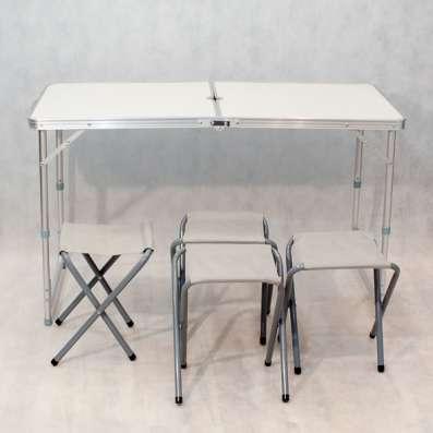 Комплект туристической мебели Стол складной + четыре стула