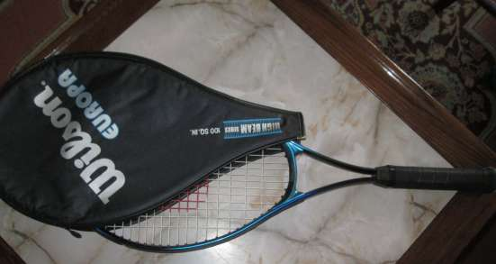 Легендарная теннисная ракетка WILSON EUROPA, ФРГ. в Краснодаре Фото 6