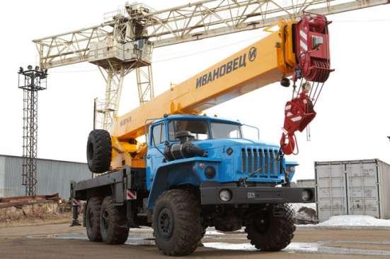 Аренда автокрана 16 тонн 18 метров ВЕЗДЕХОД