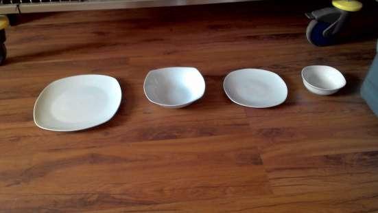 Посуда. Новая. Тарелки, бокалы и др.