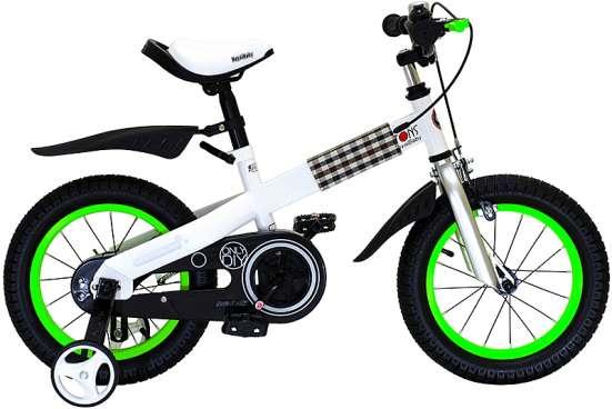 Детский велосипед Royal Baby Buttons Steel 14