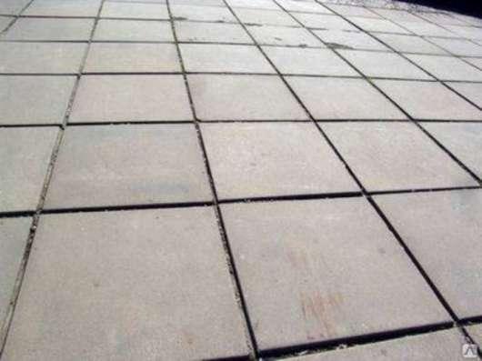 Плитка тротуарная 500х500х50