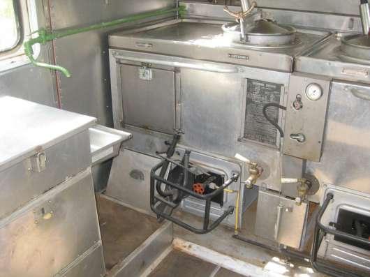 Кунг кухня полевая на 200 человек