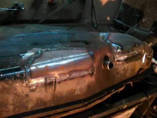 Сварка и ремонт топливного бака Мицубиси Паджеро