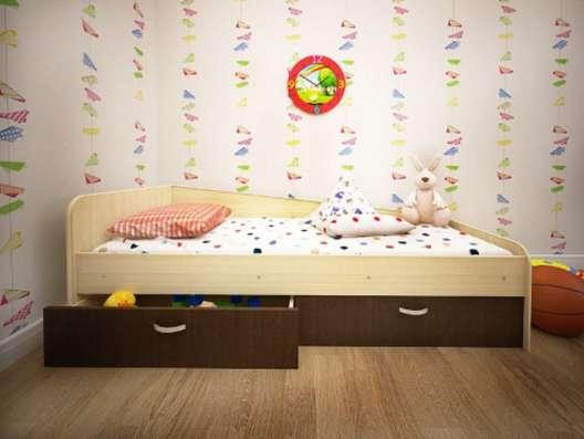 Кровать Антошка с 2-мя ящиками в Нижневартовске Фото 1