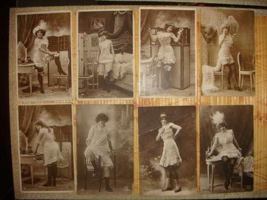 Колекция старинных открыток НЮ (эротика) в Москве