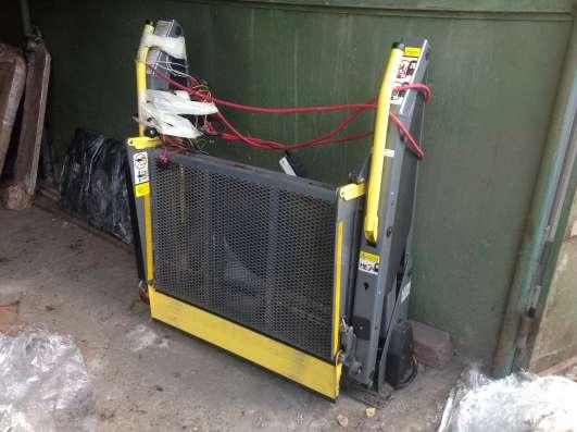 Подъёмник электро-гидравлический для инвалидов-колясочников в Москве Фото 5