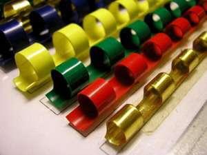 Пружины для переплета пластик 21 кольцо 8 мм