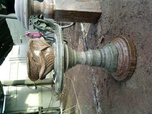 Из натурального гранита.Вазы,чаши,шары,фонтаны разной формы. в г. Кордай Фото 2