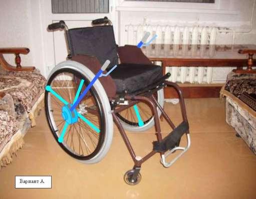 Описание по сборке и чертежи привода инвалидной коляски