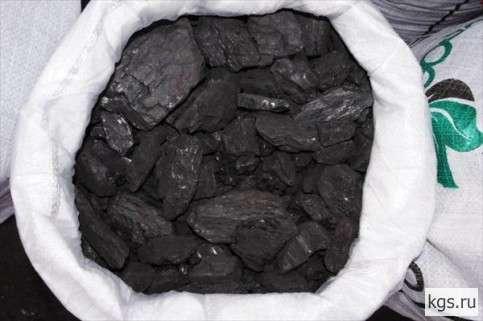 Уголь каменный в мешках 15 кг Кузбасс