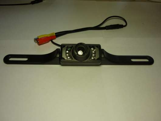 Камера на рамку номера с ИК подсветкой