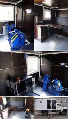 Лаборатория исследования скважин на базе ГАЗ Егерь