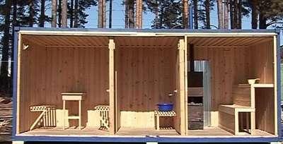 Дачные домики, жилые, вагон, бытовка, из СИП панелей, очень