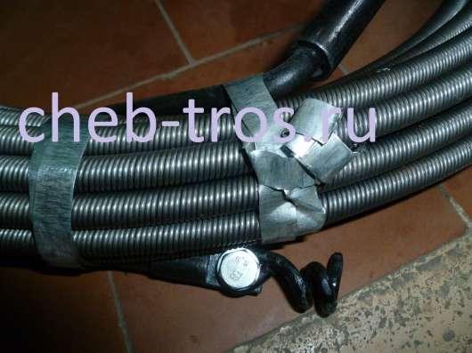 Трос сантехнический (гибкий вал) ТС-20, L-40