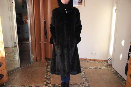 Норковая шуба в Екатеринбурге Фото 1