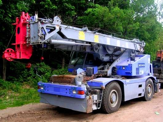 Аренда автокрана 26 тонн 41 метр