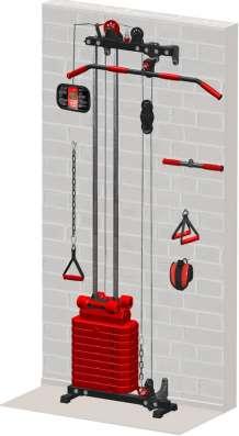 Продам новый Блоковый тренажер пристенный