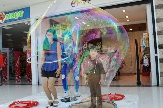 Шоу мыльных пузырей. Воскресенск