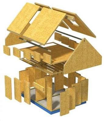 Строительство, дачных, домов, домиков, Быстровозводимые дома