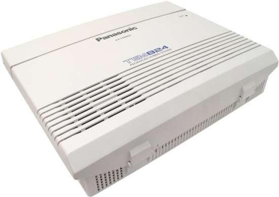 Аналоговая гибридная мини атс Panasonic KX-TEM824