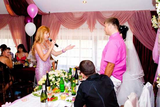 Ведущая (тамада), музыка на свадьбу в Краснодаре Фото 2