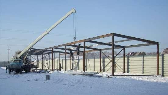 Монтаж и изготовление металлоконструкций в Новосибирске Фото 2