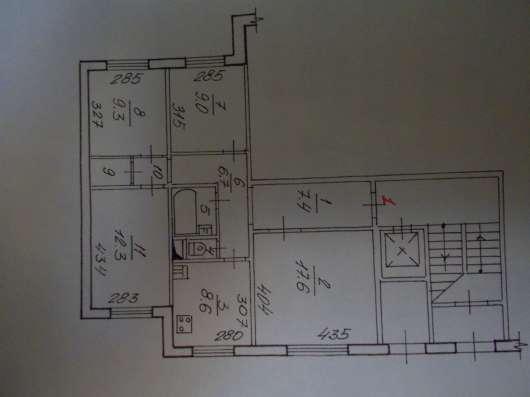 Продам 4-комнатную квартиру в Новосибирске Фото 1