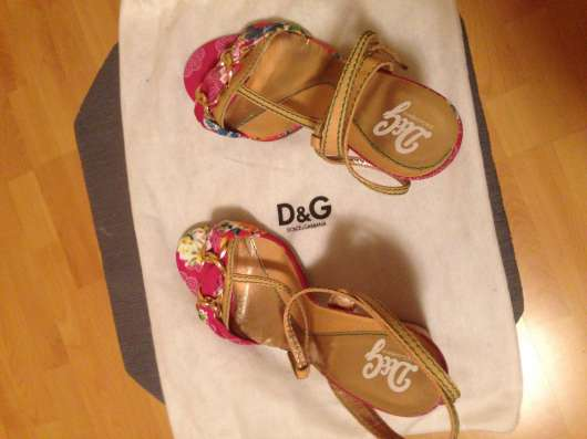 Босоножки D&G