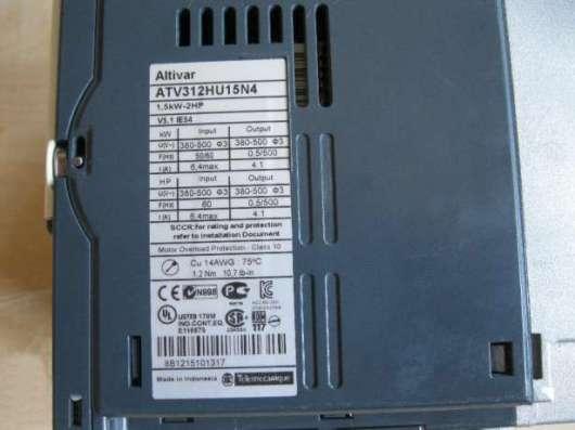 Преобразователь частоты Schneider ATV312 1.5 кВт 380в в Копейске Фото 4