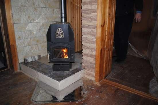 Монтаж печей, каминов, т/т котлов отопления в Новосибирске Фото 1