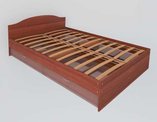 продам новую кровать из лдсп с ящиками и без ящиков