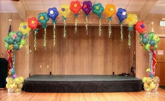 Оформление детских садов воздушными шариками