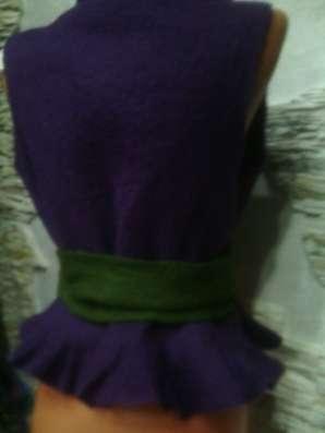 жилет женский из шерсти