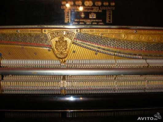 """Продам пианино """"ED.SEILER"""" в Новосибирске Фото 1"""