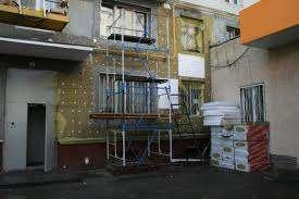 Утепление фасадов, мокрый фасад, покраска Короед.