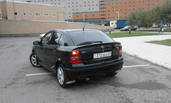 Продажа авто, Opel, Astra, Механика с пробегом 190000 км, в г.Астана Фото 3