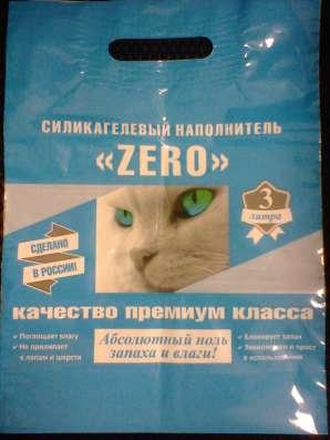 Силикагелевый наполнитель Зеро для кошачьего туалета в Челябинске Фото 2