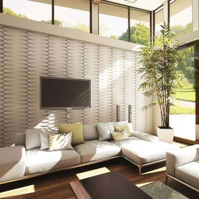 стеновые 3d панели для интерьера и экстерьера