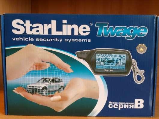 Сигнализация StarLine B9, запуск