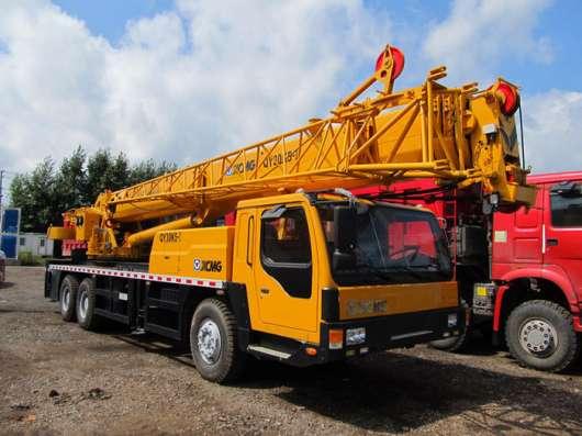 Аренда автокрана 30 тонн 47 метров