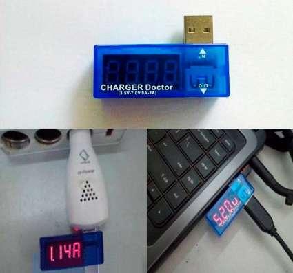 USB тестер тока и напряжения, Charger Doctor в Санкт-Петербурге Фото 2