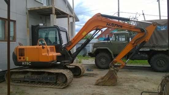 Продается миниэкскаватор Ханикс75С в Екатеринбурге Фото 3