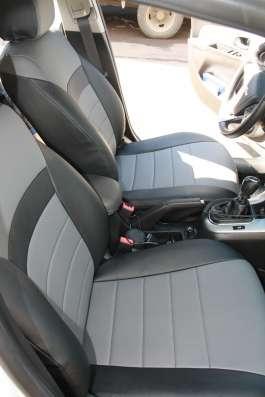 Авточехлы из экокожи Chevrolet Cruse