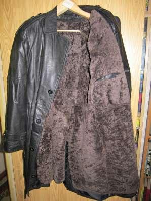 Кожаная куртка с мехом мужская продаётся