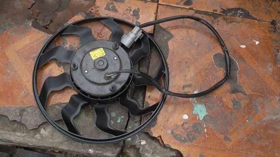 Вентилятор охлаждения автомобильного радиатора