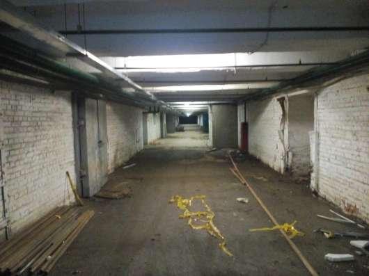 Сдаём подвальное помещение 5000 м2  под склад, производство