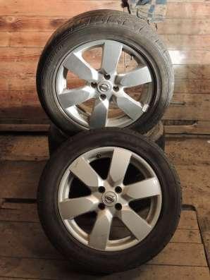 комплект летних колес на литых дисках для NISSAN NOTE